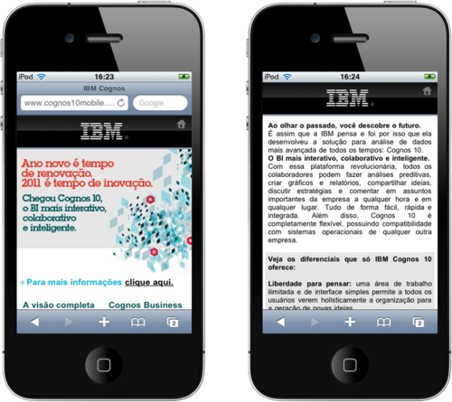 Iphone IBM